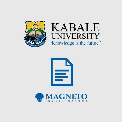 Magneto Investigators Kabale University Transcript, Degree, Certificate, Diploma Versification Checks Uganda