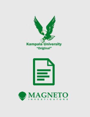 Magneto Investigators Kampala University Transcript, Degree, Diploma, Certificate Verification Checks
