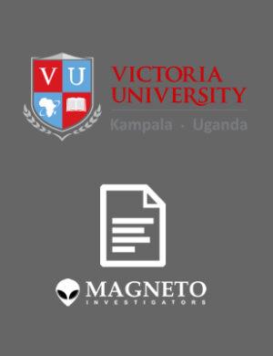 Magneto Investigators Victoria University Transcript, Degree, Diploma, Certificate Verification Checks